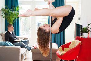 Κατ' οίκον pole dancing