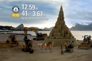 Χτίζοντας το μεγαλύτερο κάστρο στην άμμο