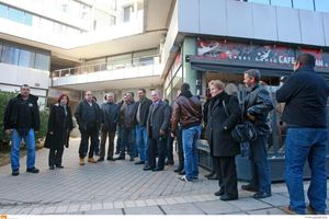 Διαμαρτυρία κτηνοτρόφων της Β. Ελλάδας στον ΟΠΕΚΕΠΕ