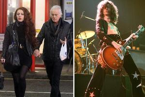 Ο 71χρονος Jimmy Page «ροκάρει» ακόμα με πιτσιρίκες