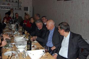 Τραπέζι προς τιμήν του Παπανδρέου στη Λάρισα