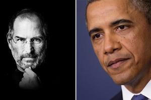 Όταν ο Ομπάμα έφαγε το 2011 με τον Στηβ Τζομπς