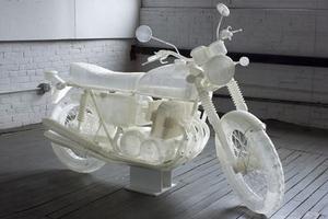 Εκτυπώνοντας μια μοτοσυκλέτα σε 3D printer