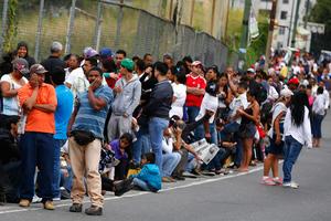 Οι ουρές απαγορεύονται στη Βενεζουέλα
