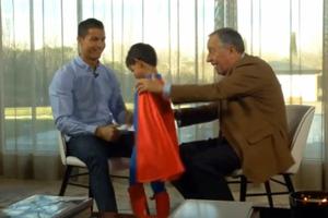 Ο Ρονάλντο έδινε συνέντευξη και τον διέκοψε ο… Superman
