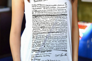 Οργή για τα μπλουζάκια με το σημείωμα αυτοκτονίας του Κέρτ Κομπέιν