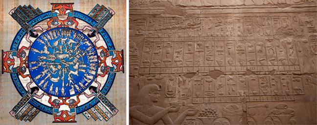αιγυπτιακές κυρίες που χρονολογούνται