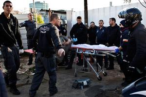 Δέκα οι τραυματίες στο Τελ Αβίβ