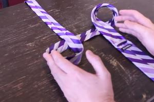 Πώς να δένεις μιά γραβάτα σα... νίντζα