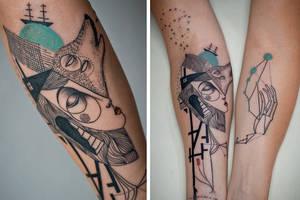 Τα τατουάζ της νέας εποχής