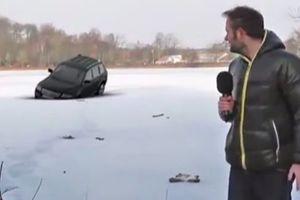 Τα ευτράπελα των δημοσιογράφων στα χιόνια