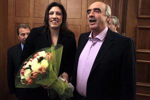 Ικανοποιημένη η Κωνσταντοπούλου από την παράδοση στη Βουλή