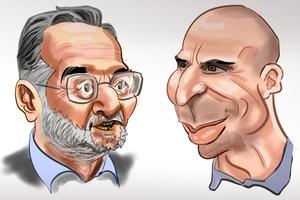 Οι έλληνες υπουργοί σε καρικατούρες