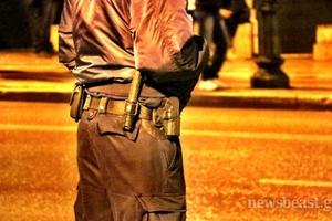 Άοπλοι αστυνομικοί στην αντιφασιστική πορεία