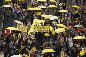 Κατηγορίες από το κινεζικό καθεστώς για τις φοιτητικές διαδηλώσεις του 2014