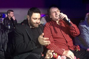 Ο Μάκης Χριστοδουλόπουλος διασκέδασε στο «ΕΛΙΖΕ»