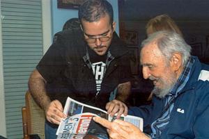 Πρώτες φωτογραφίες του Φιντέλ Κάστρο εδώ και έξι μήνες
