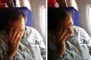 Γυναίκα ντροπιάζει άντρα κατά τη διάρκεια πτήσης επειδή την άγγιξε