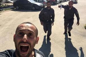 Παλαιστίνιος έβγαλε selfie ενώ τον κυνηγούσαν Ισραηλινοί