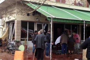Έκρηξη φιάλης υγραερίου σε καφενείο στην Αμφιλοχία