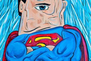 Αν ο Πικάσο ζωγράφιζε σούπερ ήρωες και κακούς