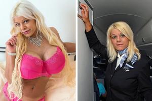 Η αεροσυνοδός που θυσίασε τη καριέρα της για το στήθος της