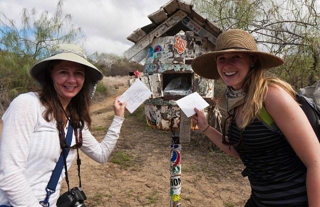 Μια παράδοση που συνεχίζεται από τους τουρίστες στα νησιά Γκαλαπάγκος