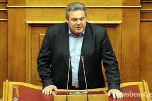 Καμμένος: Καλά τα νέα από το Eurogroup