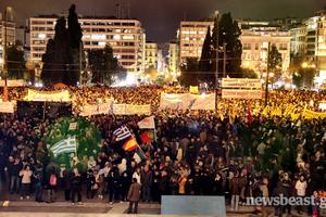 «Δεν εκβιαζόμαστε» δηλώνουν χιλιάδες άνθρωποι σε όλη την Ελλάδα