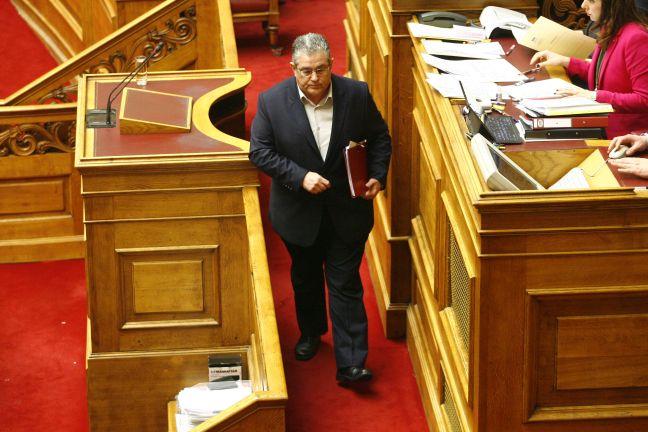 Αποτέλεσμα εικόνας για κουτσούμπας βουλή σεπτεμβρίου 2016
