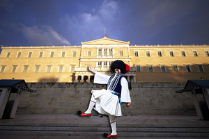 O τσολιάς της «Ελληνοφρένειας» σχολιάζει τη νέα ελληνική Βουλή