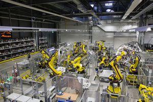 Στο εργοστάσιο της Πόρσε στη Λειψία