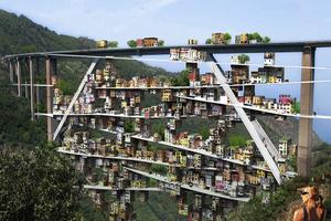 Φουτουριστικές γέφυρες με άρωμα επιστημονικής φαντασίας