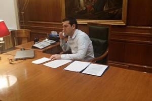 Τηλεφωνική επικοινωνία Τσίπρα – Γκουτέρες για το Κυπριακό