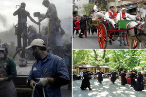 Έθιμα της Καθαράς Δευτέρας από διάφορες περιοχές της Ελλάδας