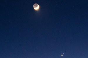 Η Αφροδίτη και ο Άρης «χορεύουν» με τη Σελήνη