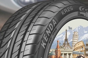 Τα ελαστικά KENDA κατέφτασαν στην Ελλάδα