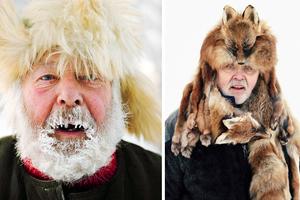 Πορτραίτα ανθρώπων που ζουν στο δριμύ ψύχος