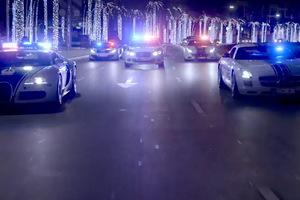 Τα υπεραυτοκίνητα της αστυνομίας του Ντουμπάι
