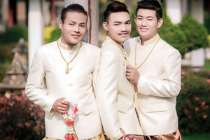 Γνωρίστε το πρώτο γκέι νυμφευμένο τρίο