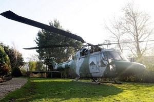 Μια βραδιά σε ένα ελικόπτερο!