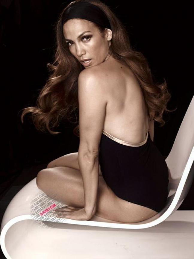 Η Jennifer Lopez χωρίς photoshop