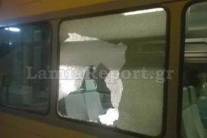 Επίθεση με πέτρα σε τρένο εν κινήσει