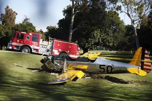 Σε βλάβη του κινητήρα αποδίδεται το ατύχημα του Χάρισον Φορντ