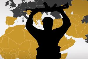Οι χολιγουντιανές εκτελέσεις και το όραμα των τζιχαντιστών μέσα από χάρτες