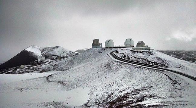 Χιόνισε ακόμα και στη Χαβάη