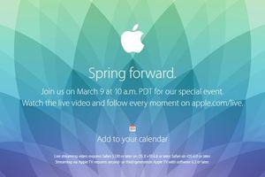 H Apple αποκαλύπτει τις τελευταίες λεπτομέρειες για το Apple Watch