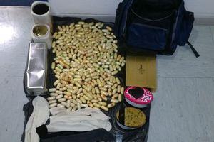 Μετέφερε κοκαΐνη από το Σάο Πάολο σε σακίδιο πλάτης