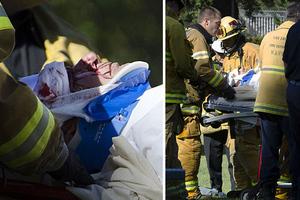 Ο Χάρισον Φορντ λίγα λεπτά μετά το αεροπορικό ατύχημα