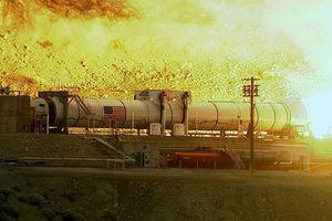 Η NASA εκτόξευσε τον μεγαλύτερο προωθητικό πύραυλο